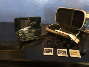 Nintendo 3DS + games+ case , headphones included for Sale in Chino Hills, CA
