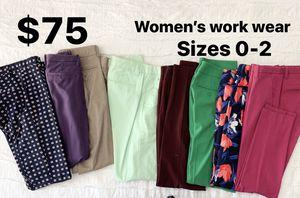 Women's work wear. Pants, slacks, blouse, shirt, blazer. for Sale in Dallas, TX