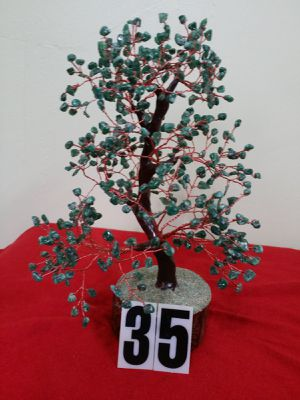 AGATE STONE TREE , GREEN COLOR BIDS. for Sale in Jersey City, NJ