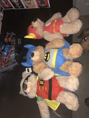 Teddy bears Batman for Sale in Miami, FL