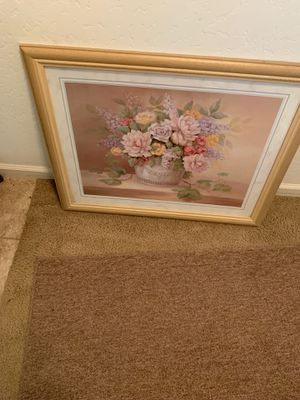 Two framed pictures for Sale in Fresno, CA