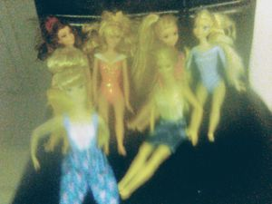 Seven Mattel barbies for Sale in Lake Wales, FL