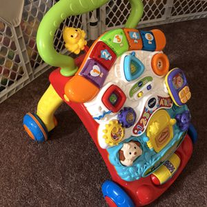 VTech Stroll and Discovery Activity Walker for Sale in Massapequa, NY