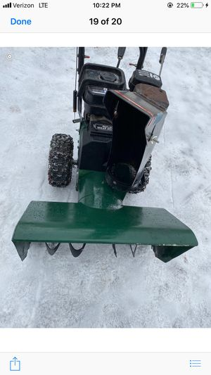 Craftsman snowblower for Sale in Winchester, CT