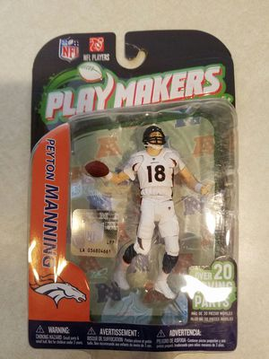 Peyton Manning action figure for Sale in PUYALLUP, WA