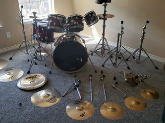 7 Piece PDP Drum Kit. Never Gigged. Excellent Condition! for Sale in Plano,  TX