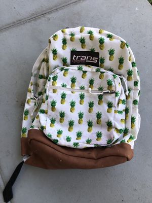 Girls backpack -pineapple print for Sale in Whittier, CA