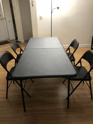Dining table and chairs for Sale in Fort Lauderdale, FL