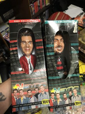 *NSYNC toys collectibles for Sale in Dallas, TX