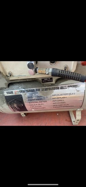 Craftsman air compressor 12 gallon for Sale in Los Angeles, CA