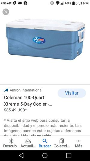 Cooler coleman xtreme 5 for Sale in Woodbridge, VA