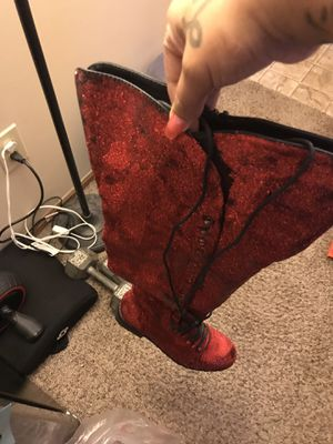 Size 11 women's thigh high boots for Sale in Hilliard, OH