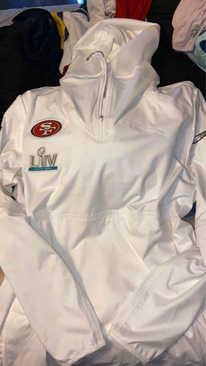 Official 49ers Detachable Super Bowel Jacket for Sale in Fresno, CA