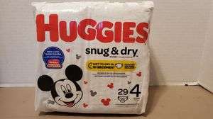 HUGGIES SNUG & DRY SIZE 4 for Sale in Portsmouth, VA