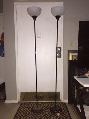 2 floor lamps for Sale in Long Beach, CA