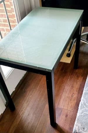 Office Table + Chair for Sale in Fairfax, VA