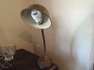 Antique industrial desk lamp for Sale in Laveen Village, AZ