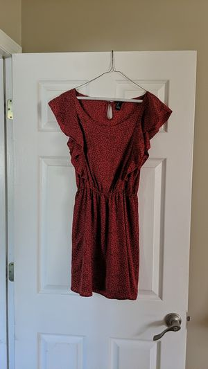 Fall sundress, fall dress, floral sundress, floral fall dress, orange dress, terracotta dress for Sale in Orlando, FL