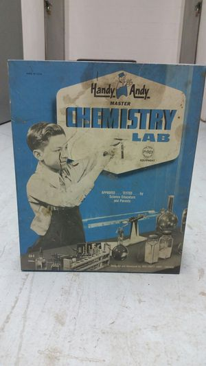 Handy Andy Chemistry Lab 1950's for Sale in Houston, TX