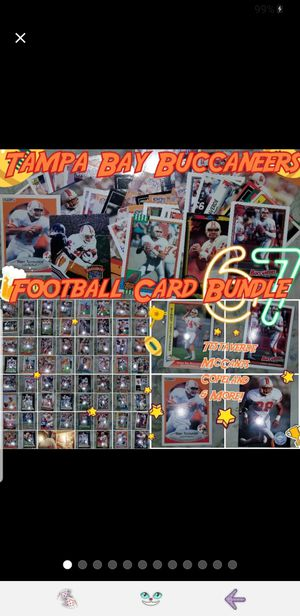 Tampa Bay Buccaneers Card Bundle for Sale in Doubs, MD