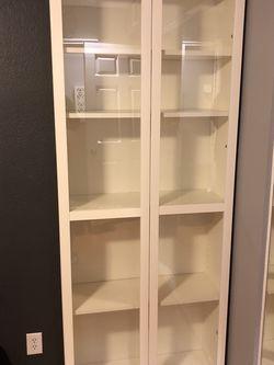 IKEA Bookshelf W/ Glass Doors for Sale in South Pasadena,  CA