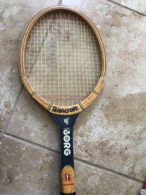 Vintage BJORN borg tennis racquet for Sale in Tampa, FL