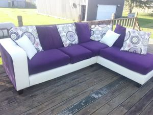 Purple Couch for Sale in Marengo, OH