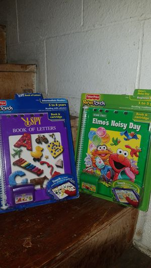 Brand new Fisher-price power touch books for Sale in Long Beach, CA