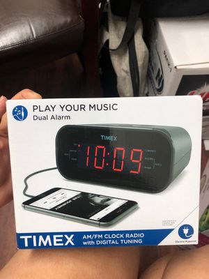 Timex play your music dual alarm for Sale in Chandler, AZ