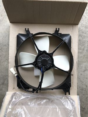 88-91 Honda CRX Civic radiator cooling fan and shroud for Sale in Ontario, CA