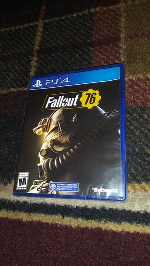 FALLOUT 76 - (NEW) SONY Playstation 4 video game for Sale in Stockton, CA