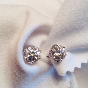 Diamonds Moissanite Studs 1.2 CT for Sale in Pawtucket, RI