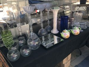 Artificial Flowers And Vases/Decor for Sale in Homeland, CA