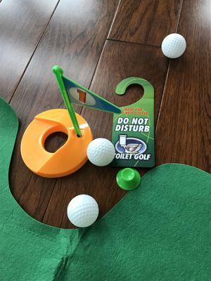 Toilet Golf - gag gift for Sale in Sterling, VA
