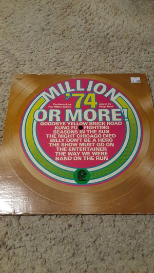 The best of 1974 album. for Sale in Huntington Beach, CA