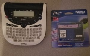 Brother Label Maker and Refill for Sale in Albuquerque, NM