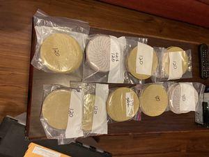 3 M circular sandpaper 120 Grit & 180 Grit for Sale in Harrisonburg, VA