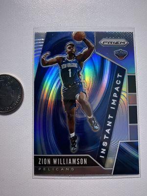 Zion Williamson Prizm Silver for Sale in Chino, CA