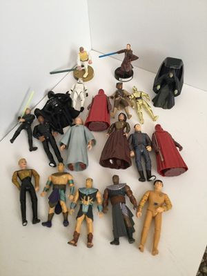 Star Gate Star Wars and Star Trek Figures for Sale in San Diego, CA