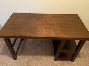 Wooden Desk with Shelves for Sale in Spartanburg, SC
