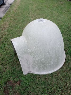 Large fiberglass top only Igloo dog house no longer have a dog could use a good cleaning sturdy Shelf for Sale in Newport News, VA