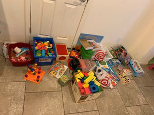 Educational toys & teaching items (priced individually) for Sale in Queen Creek, AZ