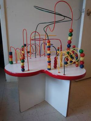 Rollercoaster Toy Bead Play Table~All Info in Post for Sale in Tulsa, OK