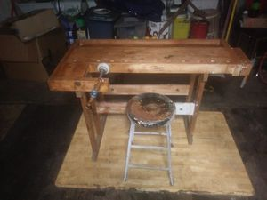 Workbench with stool for Sale in Littleton, CO