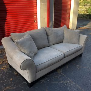 Free Delivery - Beautiful Tan Couch for Sale in Raleigh, NC