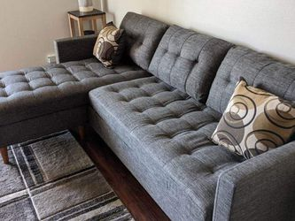 New Gray Sectional Couch Only $50 Down Payment for Sale in Los Angeles,  CA