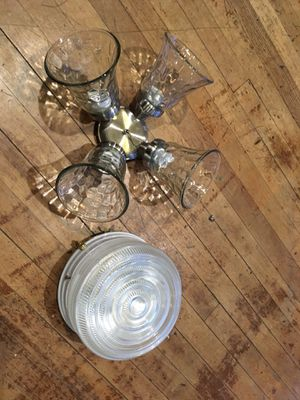 Two Light Fixtures for Sale in Dallas, TX