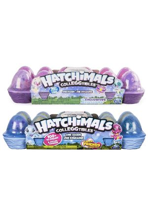 Hatchimals CollEGGtibles- bundle Egg Carton with 20 HATCHED animals for Sale in Princeton, FL