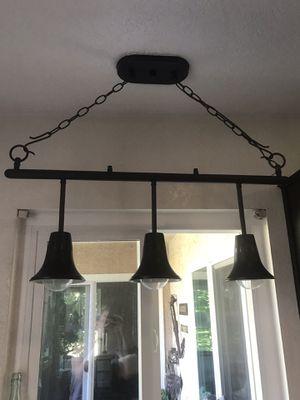 Pendant Light Fixture - 3 light for Sale in Dana Point, CA