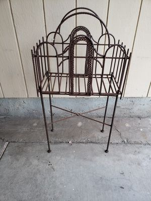Home decor well made all metal, cash only for Sale in Stockton, CA